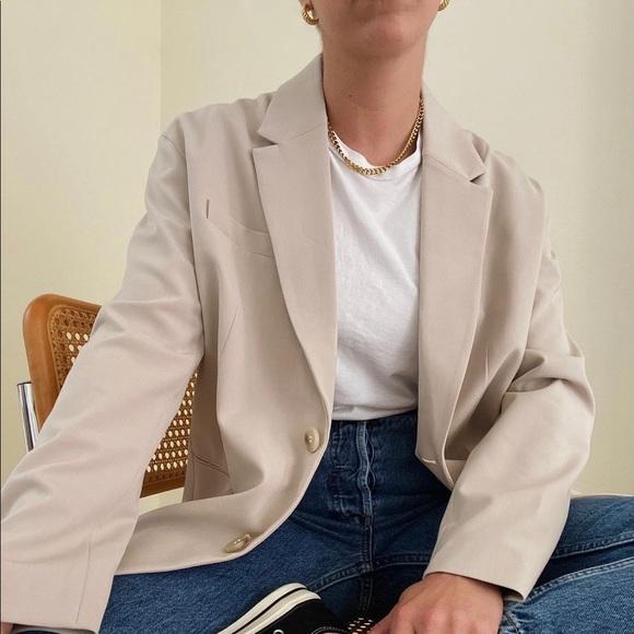 Oversized H&M blazer